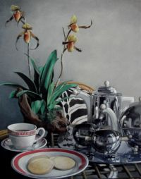 Still life with Chrome by Todd Garner