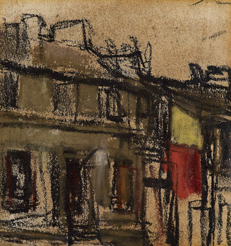 Glasgow Houses by Joan Eardley