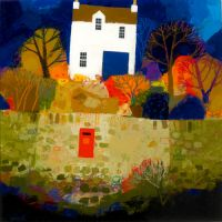 Postbox in Stone Wall by George Birrell
