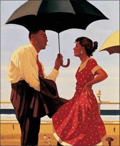 Bad Boy Good Girl - Jack Vettriano