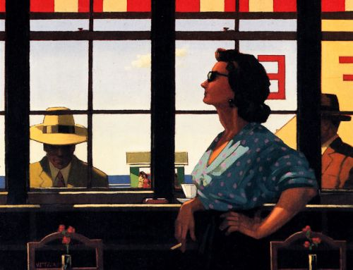 Jack Vettriano – Summers Remembered – 1994