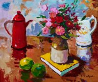 Donald McIntyre Red Jug White Jug