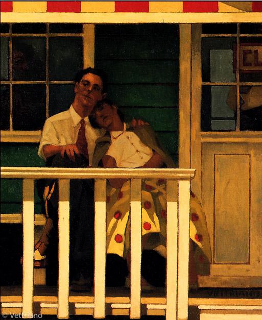Jack Vettriano - The Innocents