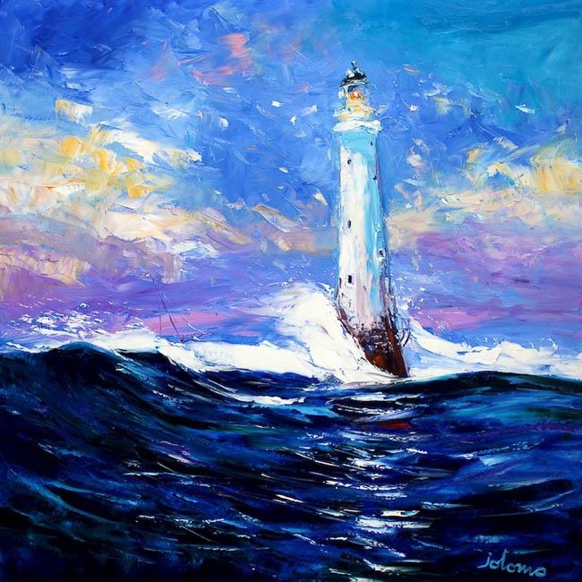 Big Sea the Bell Rock by Jolomo