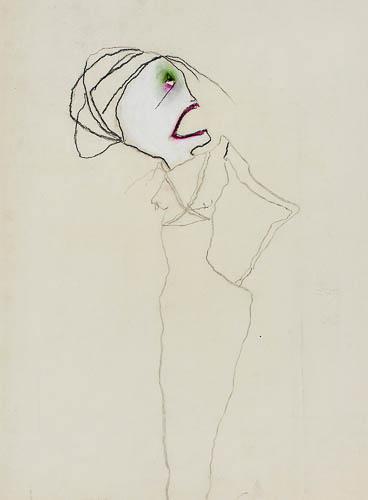 Female Figure by Pat Douthwaite