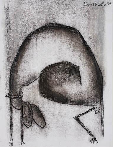 Animal Study by Pat Douthwaite