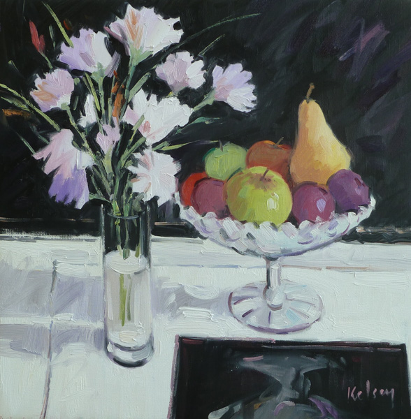 Still Life with Fruit by Robert Kelsey