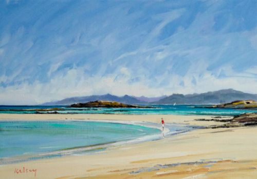 Toraston Beach, Isle of Coll by Robert Kelsey