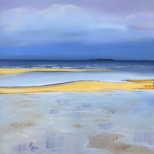 Alnmouth Coquet Island Golden Sands by Ruth Bond