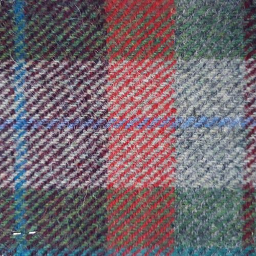 And Here the Sea-Fogs Lap and Cling – Isle of Lewis - Harris Tweed Swatch