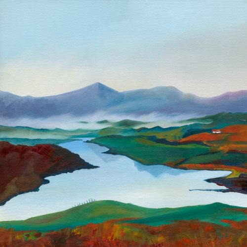 And Here the Sea-Fogs Lap and Cling - Isle of Lewis by Ruth Bond