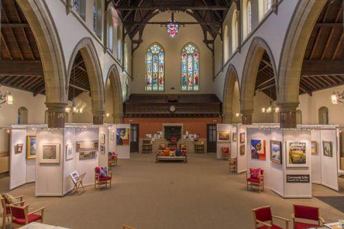 Corrymella Scott Gallery at Jesmond United Reformed Church