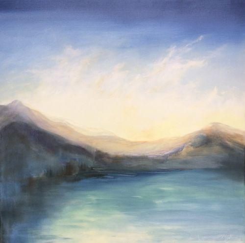 Autumn Loch I by Madeleine Gardiner