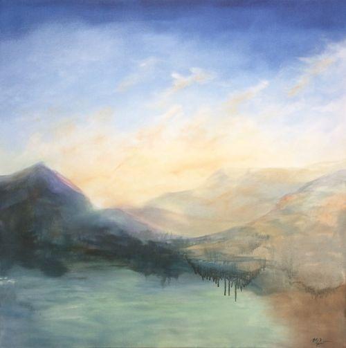 Autumn Loch II by Madeleine Gardiner