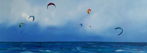 Chasing the Sky Space, Beadnell Kite Boards
