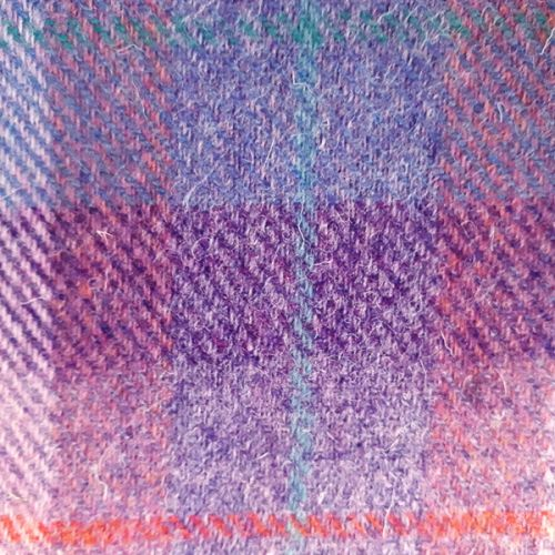 Croft Purple Shadows Harris Tweed swatch