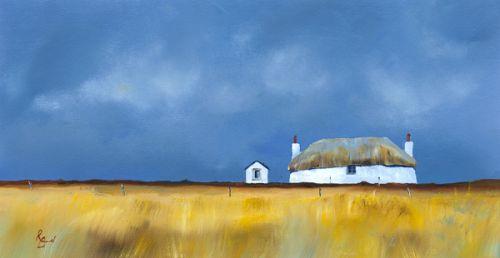 Croft Yellow Grasses by Ruth Bond