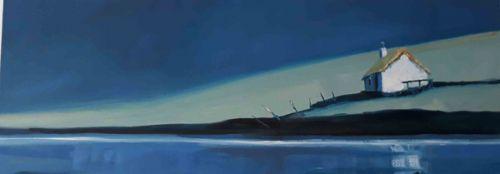 Croft on a Raised Beach, Moontide by Ruth Bond