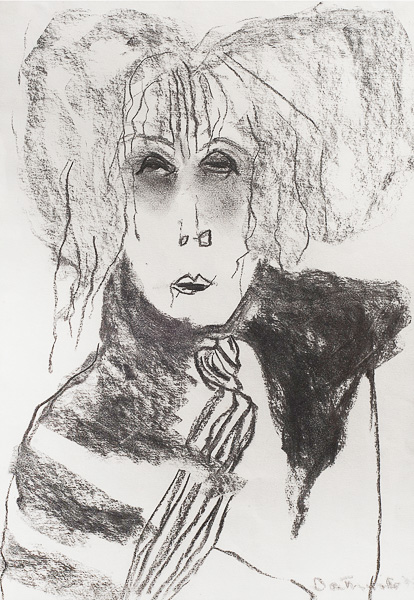 Pat Douthwaite Self Portrait
