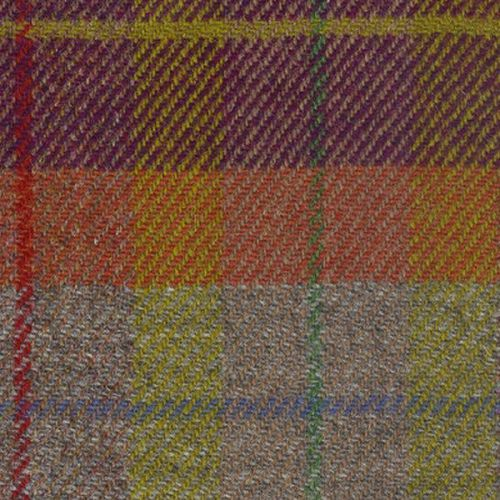 Dawn Drench over Fishermans Hut - Isle of Lewis Harris Tweed Swatch cm