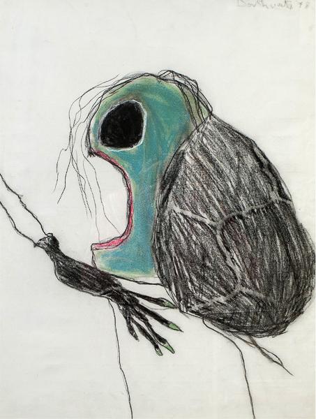 Death of a flea by Pat Douthwaite
