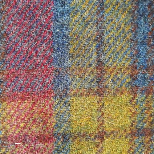 First Light Over Fishermans Hut - Isle of Lewis Harris Tweed Swatch