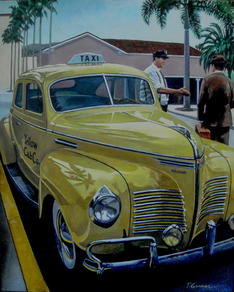 Big Yellow Taxi by Todd Garner