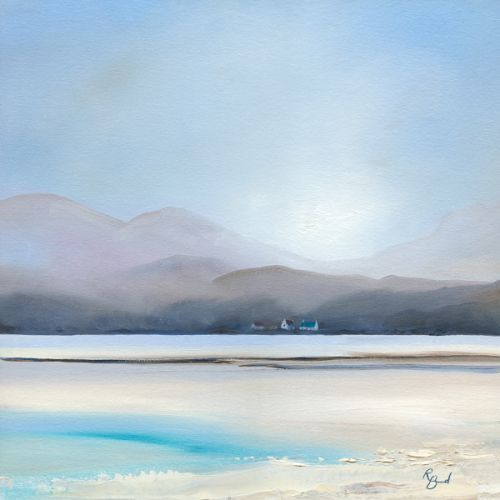 Glistening Luskentyre – Isle of Harris by Ruth Bond