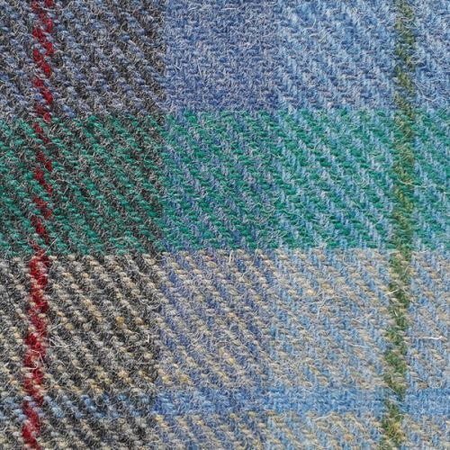 Indigo-Tinted Taransay in View (Study) Isle of Harris - Harris Tweed Swatch