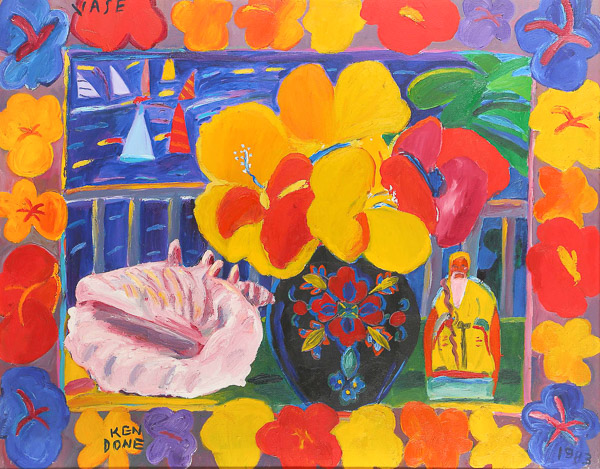 Vase by Ken Done