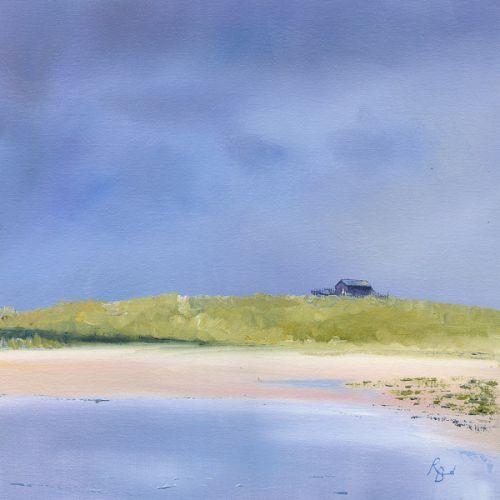 Long Nanny Burn, Beach Hut by Ruth Bond