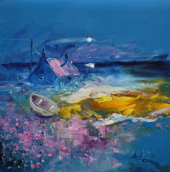 Misty Eveninglight Isle of Tiree 16 x 16 ins £3,400