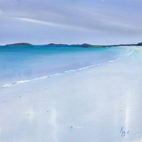 Oystery Light of so Many Shells - Barra beach by Ruth Bond