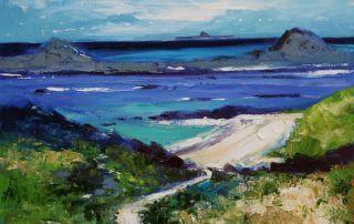 Path to Bailemhor Isle of Iona by John Lowrie Morrison - Jolomo