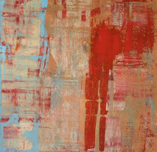 Red Vertical by Susi Bellamy