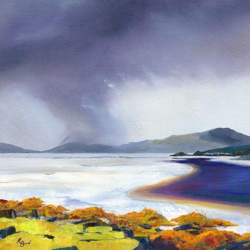 Shades of Kelp & Peat – Isle of Harris by Ruth Bond