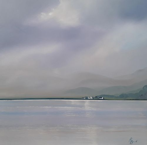 Shimmering Reflections - Luskentyre by Ruth Bond