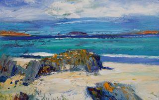 The Rocks of Bosta Beach Great Bernera Isle of Lewis by John Lowrie Morrison - Jolomo
