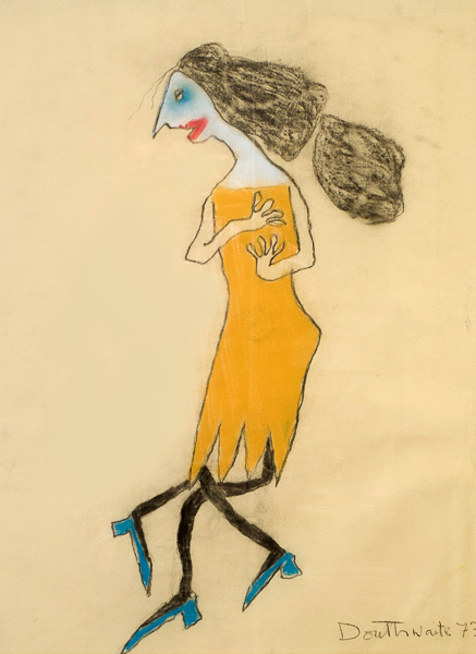 The Yellow Dress by Pat Douthwaite