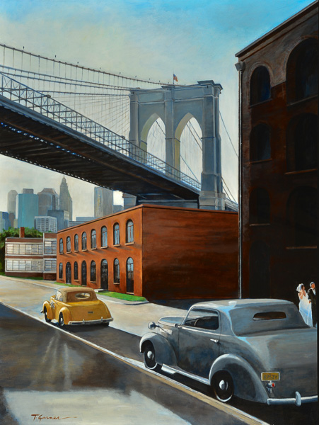 Todd Garner BRIDE AND GROOM 47 x 36 inches