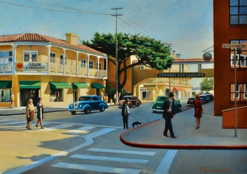 Todd Garner CANNERY ROW 18 x 24 inches