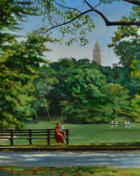 Todd Garner CENTRAL PARK 16 x 20 inches