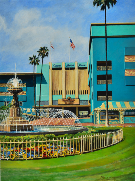 Todd Garner HOME OF SEABISCUIT 40 x 30 inches