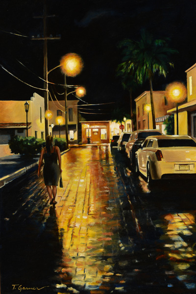 Todd Garner THE WALK HOME 30 x 20 inches