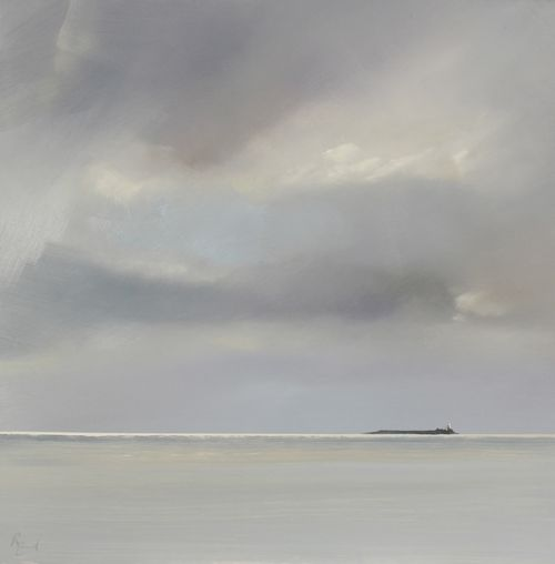 Transient Reflections Coquet Island by Ruth Bond
