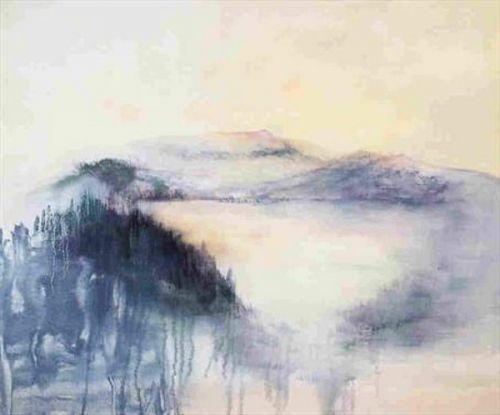 Winter Pool by Madeleine Gardiner